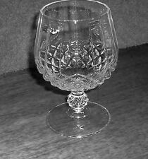 Longchamp 24% Lead Crystal Brandy Stemmed Glass Cristal d'Arques from France