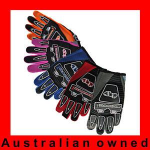 Kids motocross BMX motoX gloves