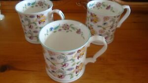 3 Very Attractive Tankards in A Haddon Hall Design GC