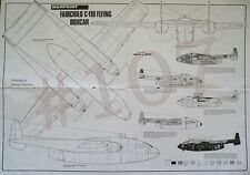 FAIRCHILD C-119 FLYING BOXCAR Warpaint 1.72 SCALE PLAN DRAWINGS