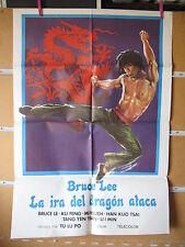 A928    BRUCE LEE LA IRA DEL DRAGON ATACA. BRUCE LE, KU FENG, MI HSUEH