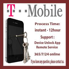 Samsung T-Mobile Remote Device App Unlock Service S9+/S9 S8 S8+ S7 S7EDGE NOTE 8