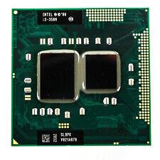 Intel Core SLBPK i3-350M Dual Core 2.26GHz 2.50GT/s DMI 3MB L3 PGA988 Processor