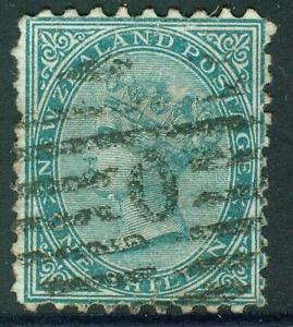 New Zealand. 1874. FSF. 1/-.P 10x12½.  U.