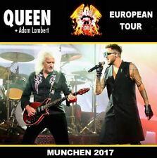QUEEN ADAM LAMBERT LIVE MUNCHEN 2017 2 CD #