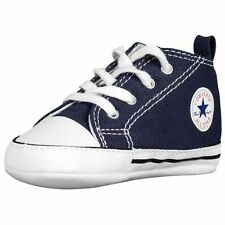 CONVERSE NEWBORN CRIB BOOTIES NAVY 88865 FIRST ALL STAR BABY SHOES SZ 1-4