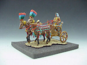 King & Country AE003 Ancient Egypt In The Time Of The Pharaohs Chariot Set New