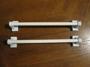 "7/16"" Multi-Use Adjustable Petite Cafe Rods Sidelight Magnetic Metal Sidelight"