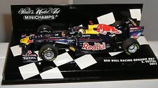 Red Bull Rb7 Sebastian Vettel World Champion 2011 Minichamps 1 43 410110001