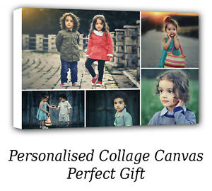Personalised Canvas Prints Photo Collage canvas Image - perfect gift