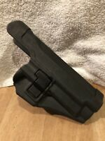 AIRSOFT HUNTING PAINTBALL BLACK HAWK SIG QUICH DETACH HOLSTER