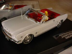 Carrera Ford Mustang Convertible Goldfinger 25737 MB Bond 007 1/32 scale