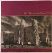U2 THE UNFORGETTABLE FIRE LP ISLAND UK 1984 6U/7U MATRIX ORIGINAL EX VINYL
