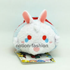 "3.5"" White Rabbit New Alice in Wonderland Tsum Tsum plush Toy phone accessories"