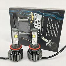 2017 V16 Turbo Cree Auto LED Headlight Kit 60W & 7200Lm/Set - H11/H8 Color 6000K