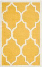 Safavieh Cambridge GOLD / IVORY Wool Area Rug 3' x 5' - CAM134Q-3