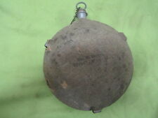 CIVIL WAR canteen id'd to W. REED 4th H. ART'Y MASS 1864