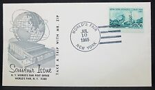 US World's Fair Souvenir Issue Cachet Cover NY Weltausstellung USA Brief (Y-518