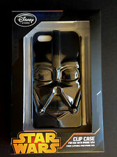 NEW DISNEY Store STAR WARS DARTH VADER Dimensional iPhone 5/5S Clip Case