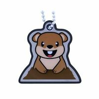 Groundhog Murmeltier Groundspeak TB Trackable Tag Geocaching Travelbug Geocoin