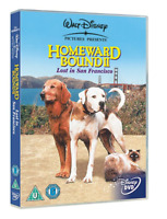 Homeward Bound 2 Lost in San Francisco OFFICIAL DISNEY DVD Brand New Gift Idea