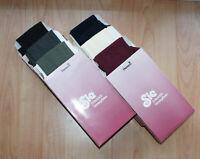 Sie Damen Feinstrick-Strumpfhosen 36 40 42 44 46 48 50 ~ 7 Farben Nylon/5% Elast