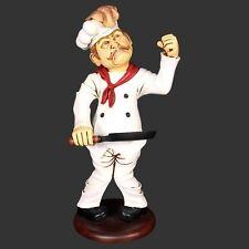 MINIATURE PANCAKE CHEF MODEL BAR RESTAURANT CAFE BISTRO FUN ADVERTISING DISPLAY
