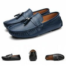 Mens Slip On Tassel Casual Driving Moccasin-gommino Leisure Loafers Shoes Flat L