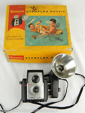 Vintage Brownie Starflex 13 Color Camera with flash & Box Ships Today
