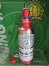 China Budweiser beer limited edition year of the dog Aluminum bottle empty