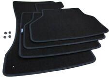 Fußmatten BMW 5er E60 E61 Velours Original Qualität Automatten 4-tlg Stiftbefest