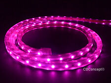 CBConcept®UL Listed,164 Feet,18000 Lumen,Pink,120 Volt Flat LED Strip Rope Light