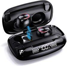 Wireless Earbuds GUSGU Bluetooth 5.0 True Wireless Earphones,IPX7 Waterproof HiF
