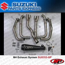 2008 - 2017 SUZUKI HAYABUSA 1300 M4 BLACK GP RETRO FULL EXHAUST SYSTEM SU8352-GP