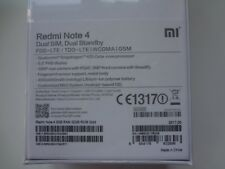 Xiaomi Redmi Note 4 32GB ROM 3GB RAM Dual SIM Global Version SIM Free Gold