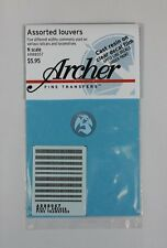 Archer Fine Transfers N-Scale (1/160) Resin Louver Assortment Mix AR88057