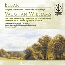 Vernon Handley - Elgar: Enigma Variations; Serenade for Strings; Vaughan Will...