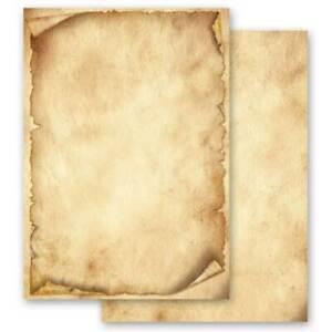 Papier à motif ANTIQUE 50 feuilles DIN A4 Vieux papier Style Ancien