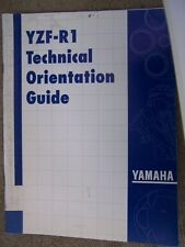 1997 Yamaha Motorcycle Model YFZ-R1 Technical Orientation Guide Manual Bike  L