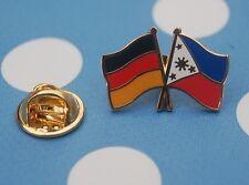 Freundschaftspin Deutschland Philippinen Pin Button Badge Anstecker Sticker AS