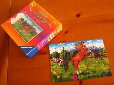 RAVENSBURGER jigsaw puzzle Horse hologram 2002 equestrian Barbara Dreisilker