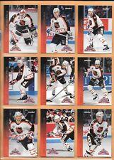 HOCKEY CARDS-93/94 PINNACLE/SCORE ALL STAR SET (1-45)