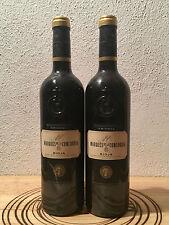 2 botellas de vino / 2 Wine Bottles MARQUES DE LA CONCORDIA Crianza 2001