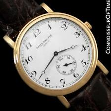 PATEK PHILIPPE CALATRAVA Mens Officer's Watch, Ref. 5022J - 18K Gold - Warranty