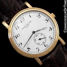 PATEK PHILIPPE CALATRAVA Mens Officer's Watch, Ref. 5022J - 18K Gold