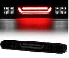 For Chevy GMC Silverado Sierra 07-13 Rear 3rd LED Stop Brake Light Smoke Smoked