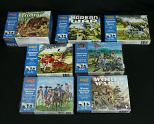 1/72 IMEX Soldier Figure Lot Some NOS, Some Painted 502 511 522 527 531 554 555