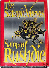 SALMAN RUSHDIE HAND SIGNED AUTOGRAPHED SATANIC VERSES BOOK! EXACT PROOF + C.O.A.