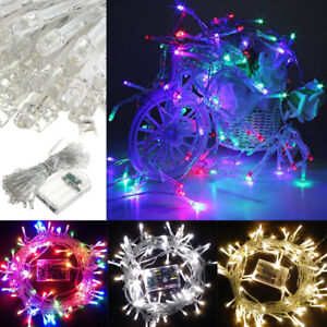 LED Battery Power Light Fairy String Lights Gift For Xmas Wedding Party Outdoor