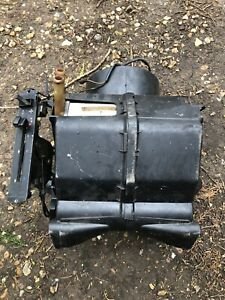 Ford Capri Interior heater Control Box With New Blower Motor And Used Matrix